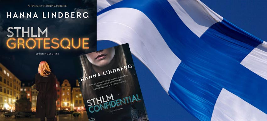 Two book deal: Stockholm Confidential and Stockholm Grotesque to Finland