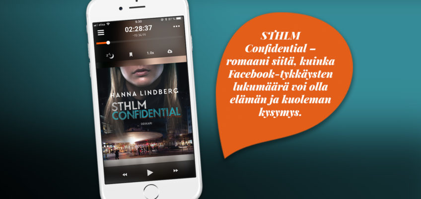 Audiobook release in Finland